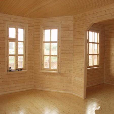 Как обшить вагонкой комнату в деревянном доме