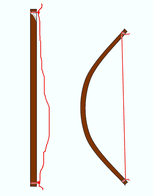 Как лучше сделать лук и стрелы 216